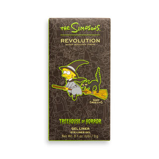 """The Simpsons Makeup Revolution Gruesome Gel Liner """"Witch Lisa"""""""