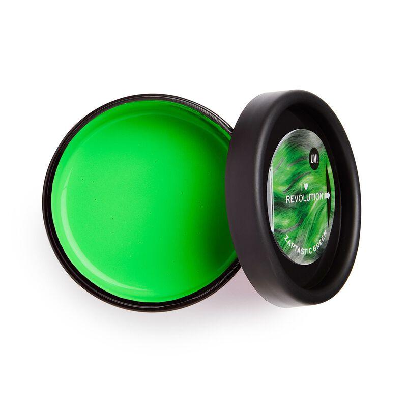 UV Neon Green Hair Make Up