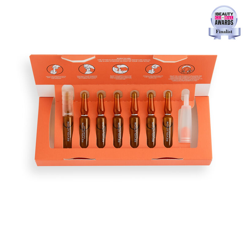 Revolution Skincare Vitamin C 7 Day Brightening Skin Plan Ampoules