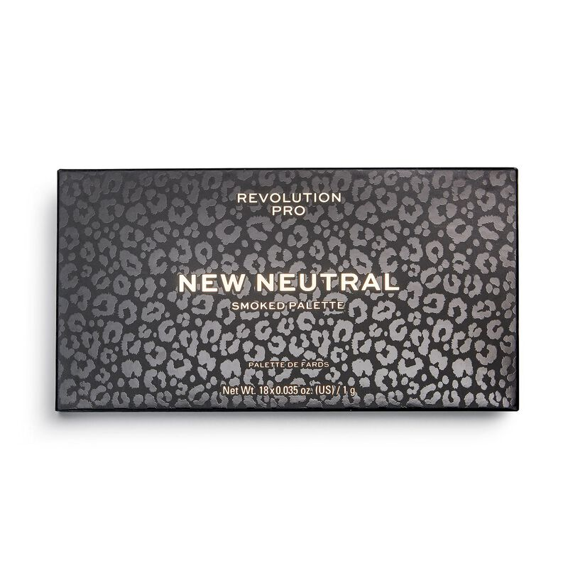 New Neutrals Smoked Shadow Palette