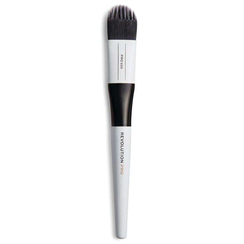 220 Medium Feathered Flat Brush