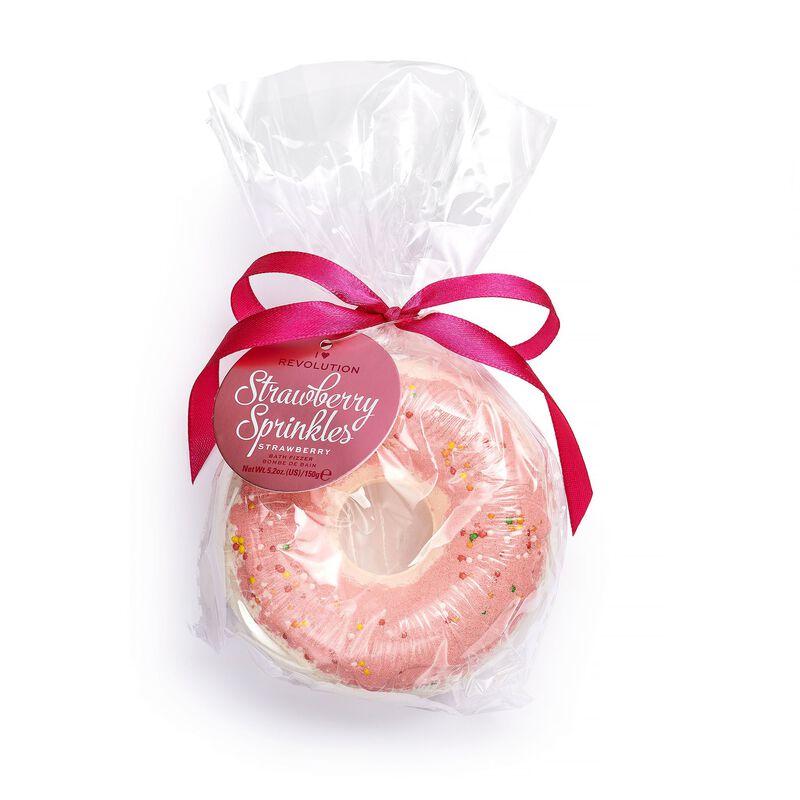 Strawberry Sprinkles Bath Fizzer