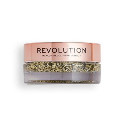 Makeup Revolution Viva Glitter Body Balm Golden Girl