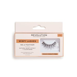 No.4 Feather - Wispy Lashes