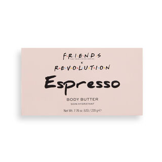 Makeup Revolution X Friends Espresso Body Butter