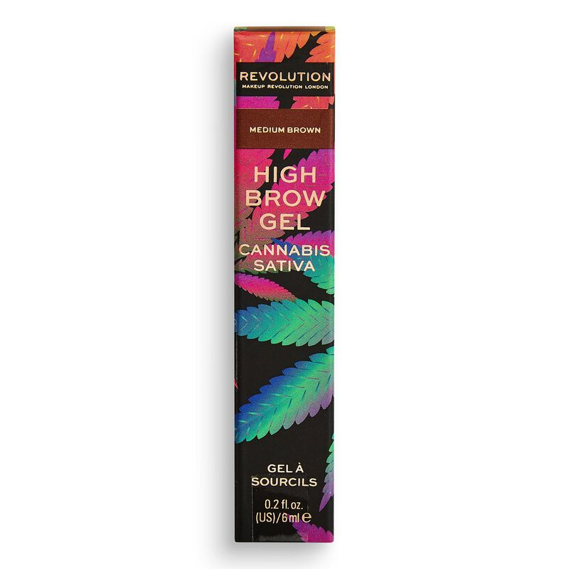 High Brow Gel with Cannabis Sativa Medium Brown