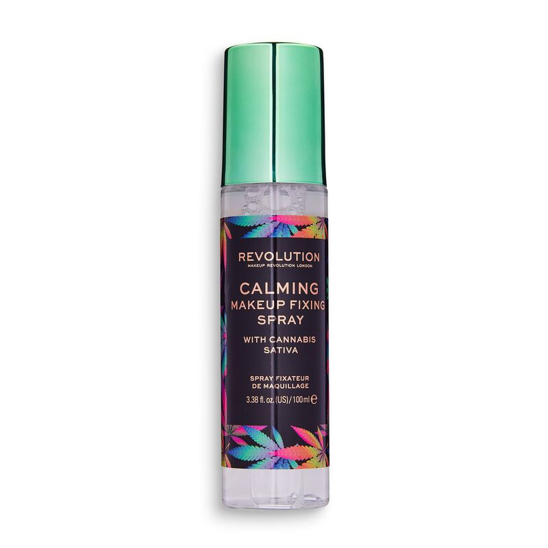Revolution Calming Setting Spray with Canabis Sativa