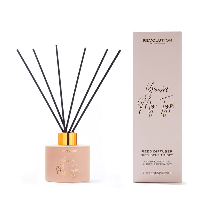 Revolution You Are My Type Reed Diffuser