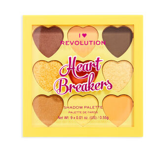 I Heart Revolution Heartbreakers Eyeshadow Palette Joy