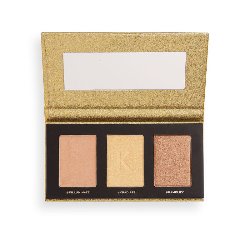 Revolution X Kitulec Highlighter Palette Glow Kit