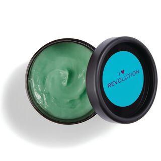 Rainbow Tones Green Mermaid Waves