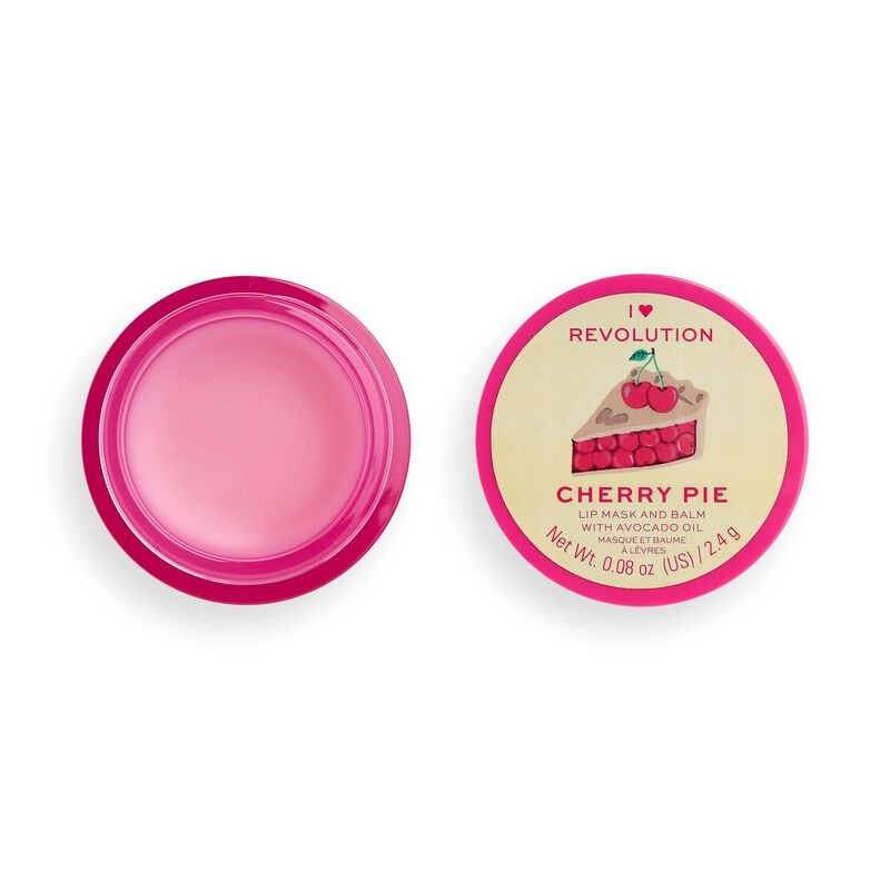 I Heart Revolution Lip Mask & Balm Cherry Pie
