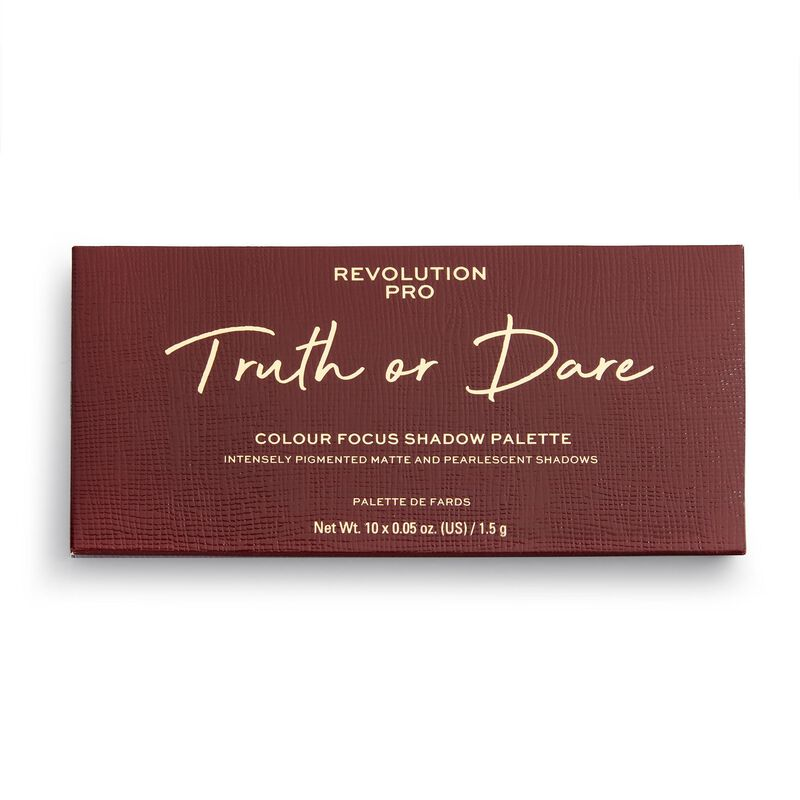Revolution Pro Colour Focus Eyeshadow Palette Truth or Dare