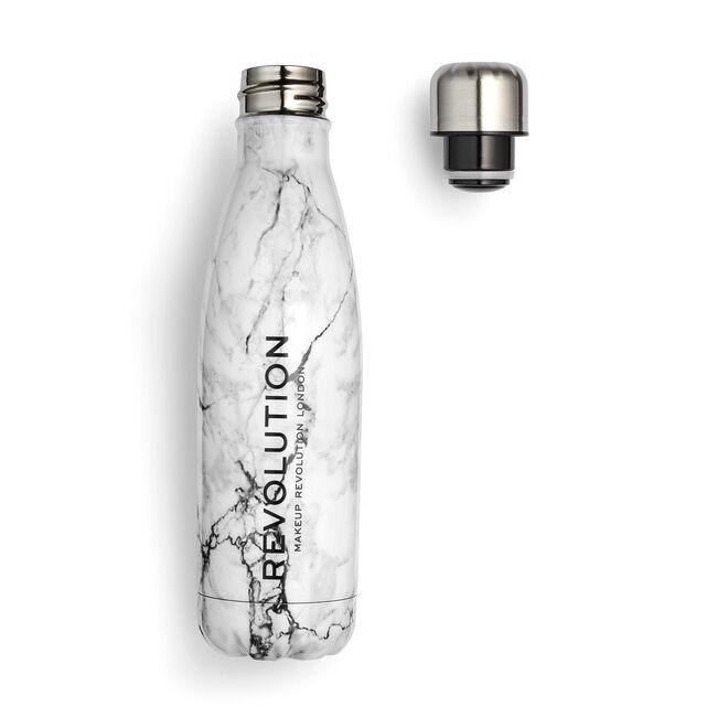 Water Bottle Marble Finish