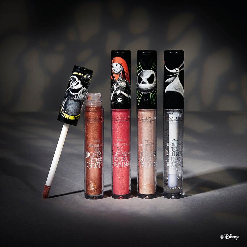 Makeup Revolution Disney Nightmare Before Christmas Lip Gloss Zero