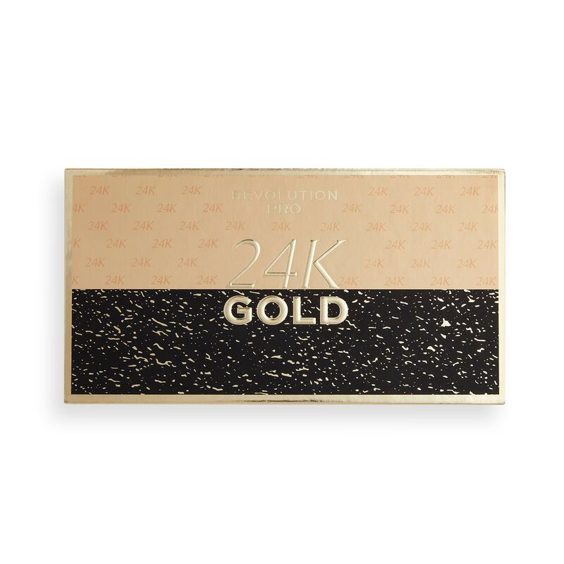 Revolution Pro 24k Gold Eyeshadow palette