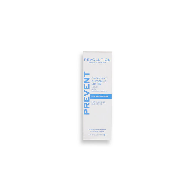 Revolution Skincare Zinc and Niacinamide Anti Blemish Overnight Buffering Lotion