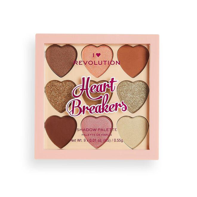I Heart Revolution Heartbreakers Eyeshadow Palette Majestic