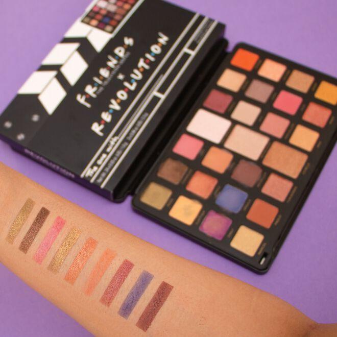 Makeup Revolution X Friends Flawless Limitless Eyeshadow Palette