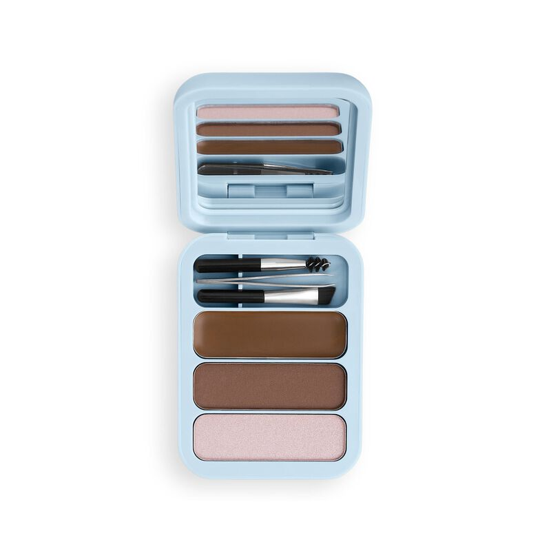 Makeup Obsession Brow Goals Brow Kit - Light To Medium Brown