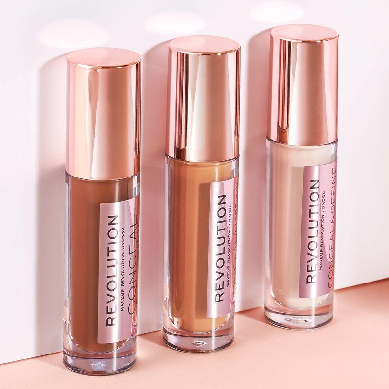 Makeup Revolution Conceal & Define Concealer C0.2