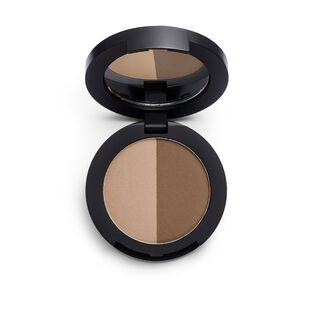 Duo Eyebrow Powder Dark Brown