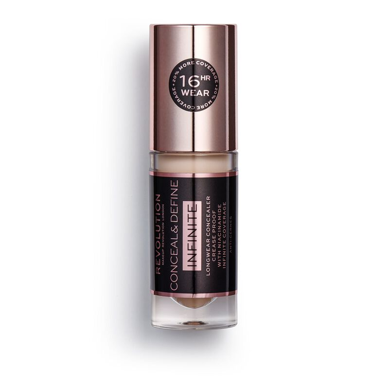 Makeup Revolution Conceal & Define Infinite Longwear Concealer (5ml) C4.5