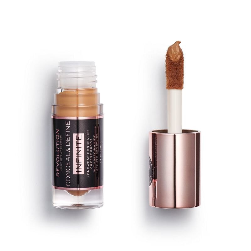 Makeup Revolution Conceal & Define Infinite Longwear Concealer (5ml) C12.7