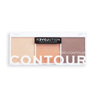 Relove by Revolution Colour Play Contour Trio Palette Bronze Sugar
