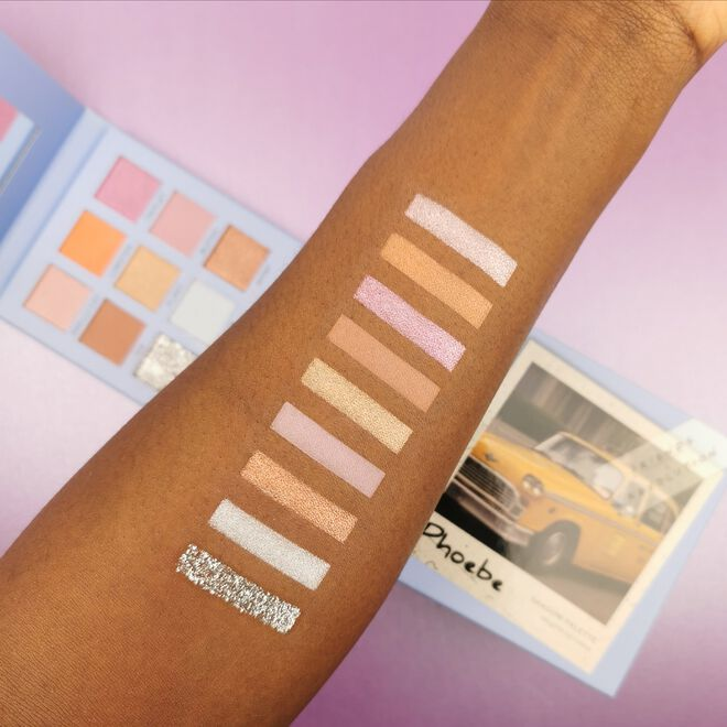 Makeup Revolution X Friends Phoebe Eyeshadow Palette