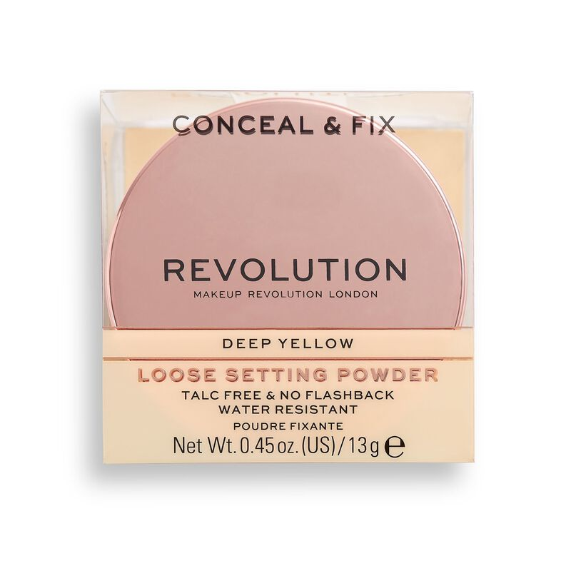 Conceal & Fix Setting Powder Deep Yellow