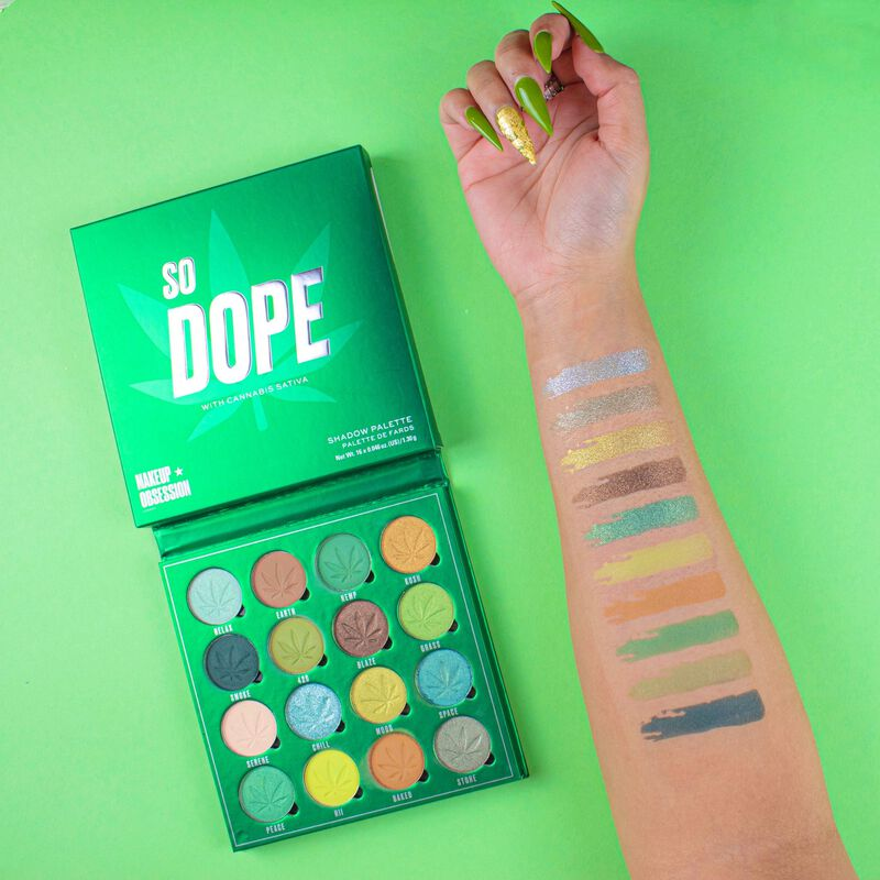 So Dope Shadow Palette with Cannabis Sativa