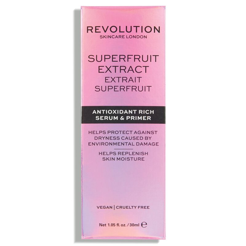 Revolution Skincare Superfruit Extract - Antioxidant Rich Serum & Primer