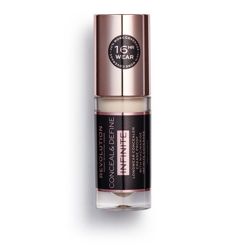 Makeup Revolution Conceal & Define Infinite Longwear Concealer (5ml) C0.7