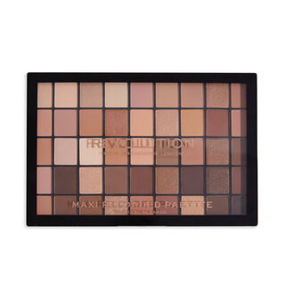 Makeup Revolution Maxi Reloaded Eyeshadow Palette Nudes