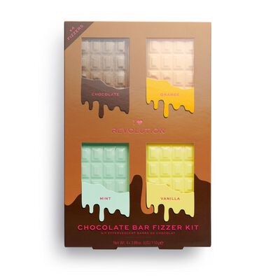 I Heart Chocolate bar fizzer kit