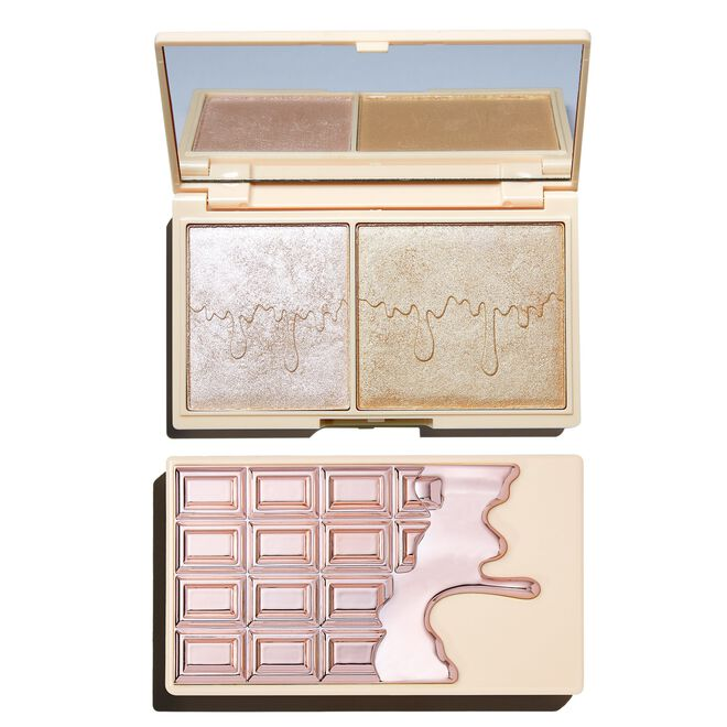 Rose Gold Glow Mini Chocolate Highlighter Palette