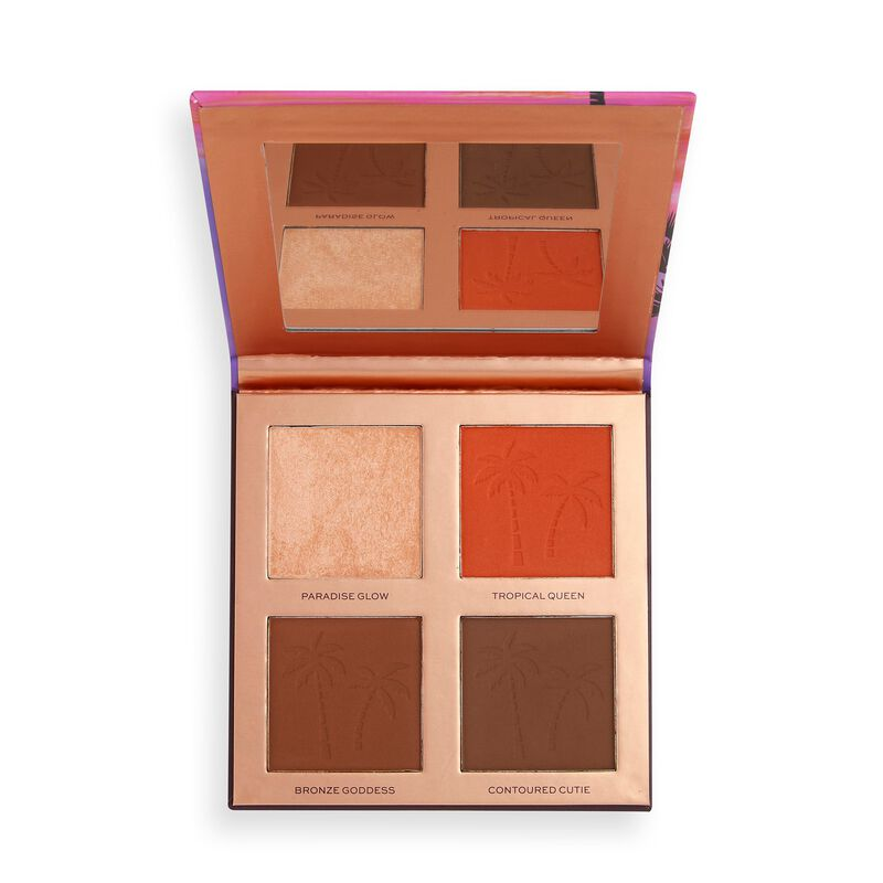 Makeup Revolution X Tammi Paradise Glow Medium Deep Face Palette