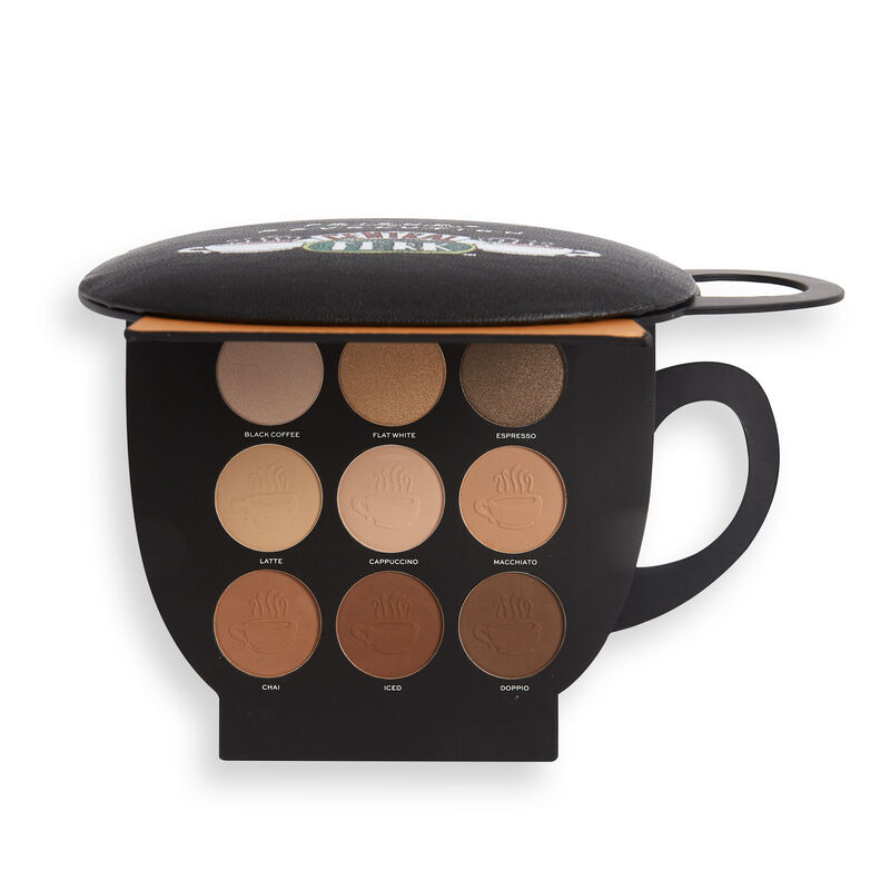 Makeup Revolution X Friends Grab a Cup Face Palette Light to Medium