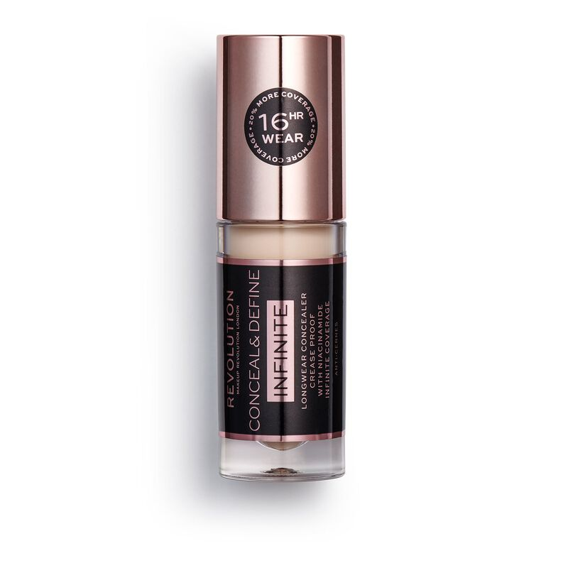Makeup Revolution Conceal & Define Infinite Longwear Concealer (5ml) C3.5