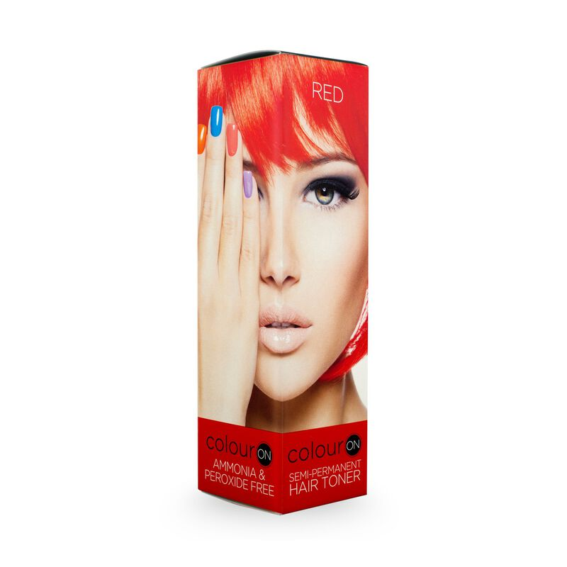 ColourOn Toner Red Hot 100ml