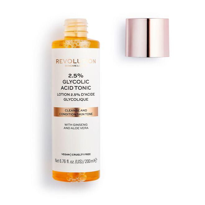 Revolution Skincare 2.5% Glycolic Acid AHA Glow Liquid Exfoliant Toner