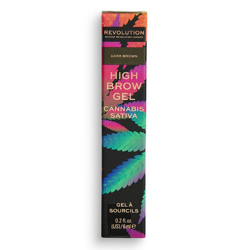 High Brow Gel with Cannabis Sativa Dark Brown