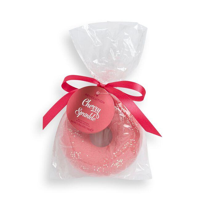 I Heart Revolution Cherry sprinkle Donut fizzer