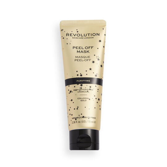 Revolution Skincare Purifying Peel Off Face Mask with Charcoal & Colloidal Gold