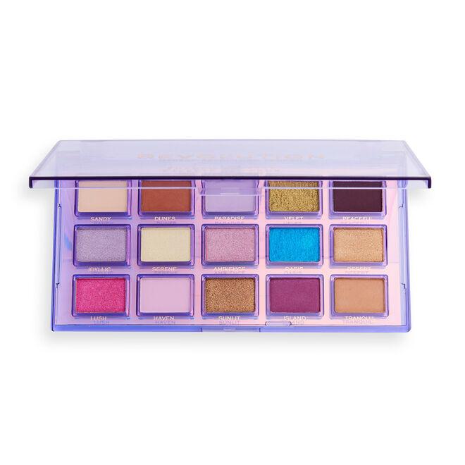 Makeup Revolution Reflective Eyeshadow Palette Ultra Violet