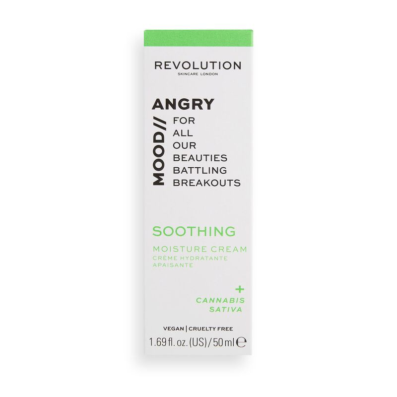 Revolution Skincare Angry Mood Soothing Moisture Cream
