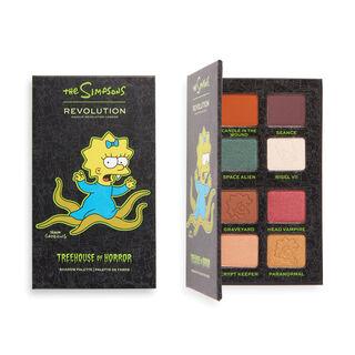 "The Simpsons Makeup Revolution Mini Eyeshadow Palette ""Alien Maggie"""