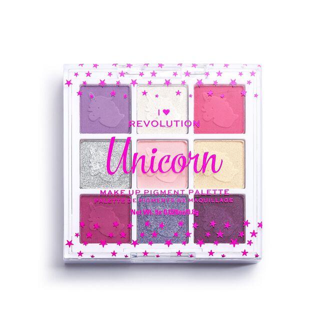 Fantasy Makeup Pigment Palette Unicorn