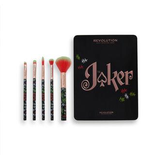 The Joker™ X Makeup Revolution Put on a Happy Face Brush Set